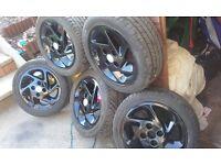 X5 ford escort rs turbo alloys