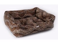 Chilli Dog Leopard Sofa Dog Bed | Brand New