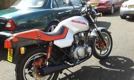 Rare Suzuki Katana GS 550 M 1982 14265 miles original condition MOTd to end May 2018.0