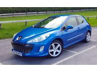 Peugeot 308 1.6 HDi Sport - low mileage, MOT June 2017, excellent condition