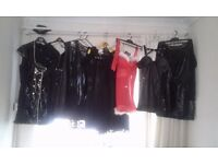 Joblot sexy pvc dresses and lingerie