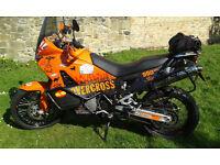 KTM 990 adventure motorbike