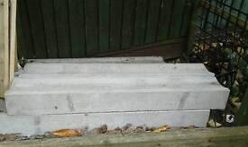 Concrete drainage channel