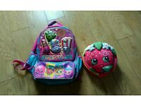 Shopkins backpack with matching free Lunchbag