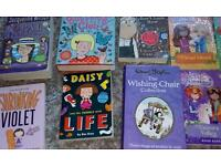 13 girls books in great condition