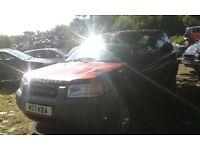 2000 Land Rover Freelander 2.0 Di Hardback 3dr red 696 BREAKING FOR SPARES
