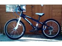 Dawes Rocket Mountain Bike 20'' Wheels Alloy frame 20'' Alloy wheels 6 Shimano gears. £30 Xmas gift
