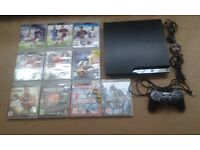 PS3 Console+10 Games(Stanmore HA7)