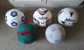 size 5 footballs