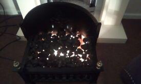 Electric coal fire affect