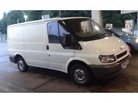FORD TRANSIT 2,0 DIESEL 55 REG 2 OWNERS FULL 12 MONTHS MOT AND JUST HAD SERVICE CLEAN VAN FOR AGE