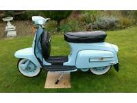Lambretta 125 starstream scooter 1970