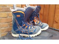 Snow board boots size 11.5