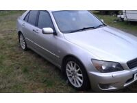 hi selling my 2004 lexus is200 sport would swap for lwb van the right 4x4 quad