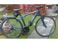 adult, GT TRANSEO 4.0 COMFORT HYBRID. serviced ready to ride. with extras.