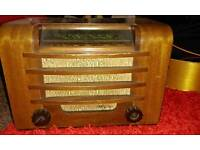 Ferguson vintage radio made in enfield