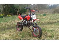 Pitbike 110cc manual