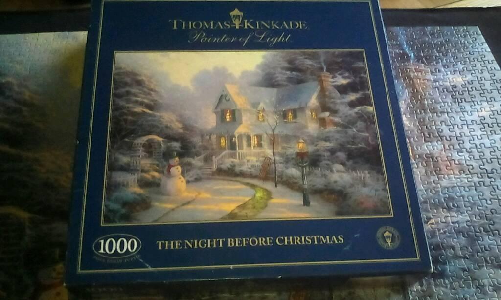 Jigsaw puzzle Thomas Kinkad