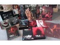 TRUE BLOOD COLLECTION FOR SALE! DVD'S, GRAPHIC NOVELS, RARE FILM CELL, POSTER, SOUNDTRACKS AND MORE!