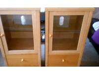 Two cabinets for sale