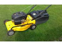 JCB SELF DRIVE PETROL LAWNMOWER 5.5 UP EXTRA LARGE CUT WITH GRASS BOX