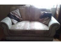 3 and 2 seater settees