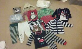 Bundle of boys winter clothes 6-9/9-12 months