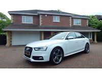 Audi A4 TDI S LINE BLACK EDITION (white) 2013