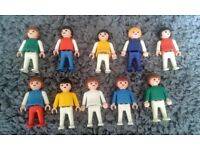 Set of 10 Vintage Playmobil Children. (Less than £1 Per Person)
