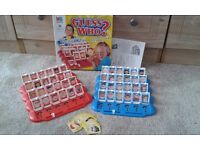 Guess who children's game