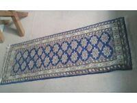 Silk thread rug