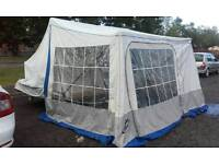 Trailer tent camping