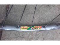 "front mountain bike wheel 26"" Mavic M231 shimano lx"