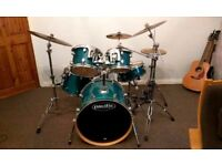PDP (Pacific) Full Drum Kit with extras