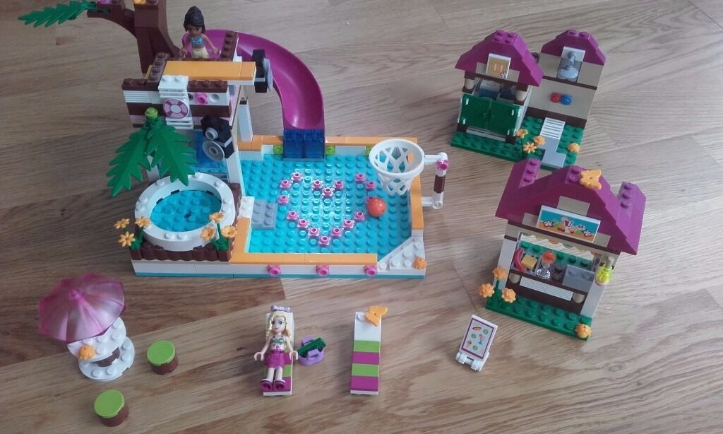 Lego Friends Heartlake City Pool Set Full Set With Instructions