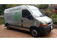 Renault Master Van. MOT June 2017. Ready to go for a Landscape gardener. good condition