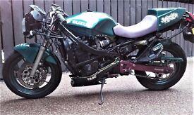 Suzuki GSX750F 1993 cheap runaround, standard investment project, custom, or track bike