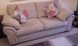 Burbank 3 Seater Sofa Standard Back (Excellent Condition)