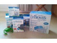 Dr Brown's feeding kit