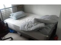 2 Double Beds. 1 Mattress. All good condition.