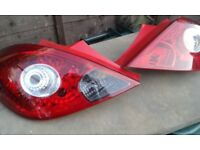 Vauxhall Corsa D rear light lens