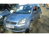 2007 Ford Fiesta MK6 1.4 zetec climate blue tonic 3dr BREAKING FOR SPARES