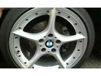 BMW Genuine 18' Staggered BBS Split Rim 108 Style