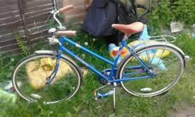 Vintage triumph ladies bicycle