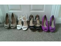 Size 3 ladies high heels shoes