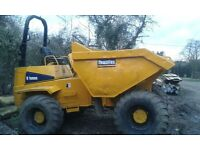 Thwaites 9 tonne Dumper,yr 2002, roll bar, beacon,tyres all good condition,