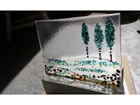 Recycled fused glass workshop