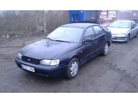 Toyota Carina E 1.6 LHD left hand drive AIR CONDITIONS SALOON very good export Africa