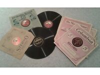 Large collection of 78 rpm records