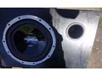 BASS BOX XPLOD 1300W NO AMP